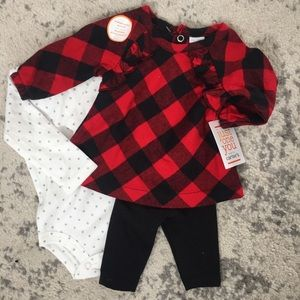 NB 3 piece outfit